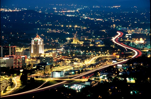 Roanoke Nightscape (newest photo).JPG